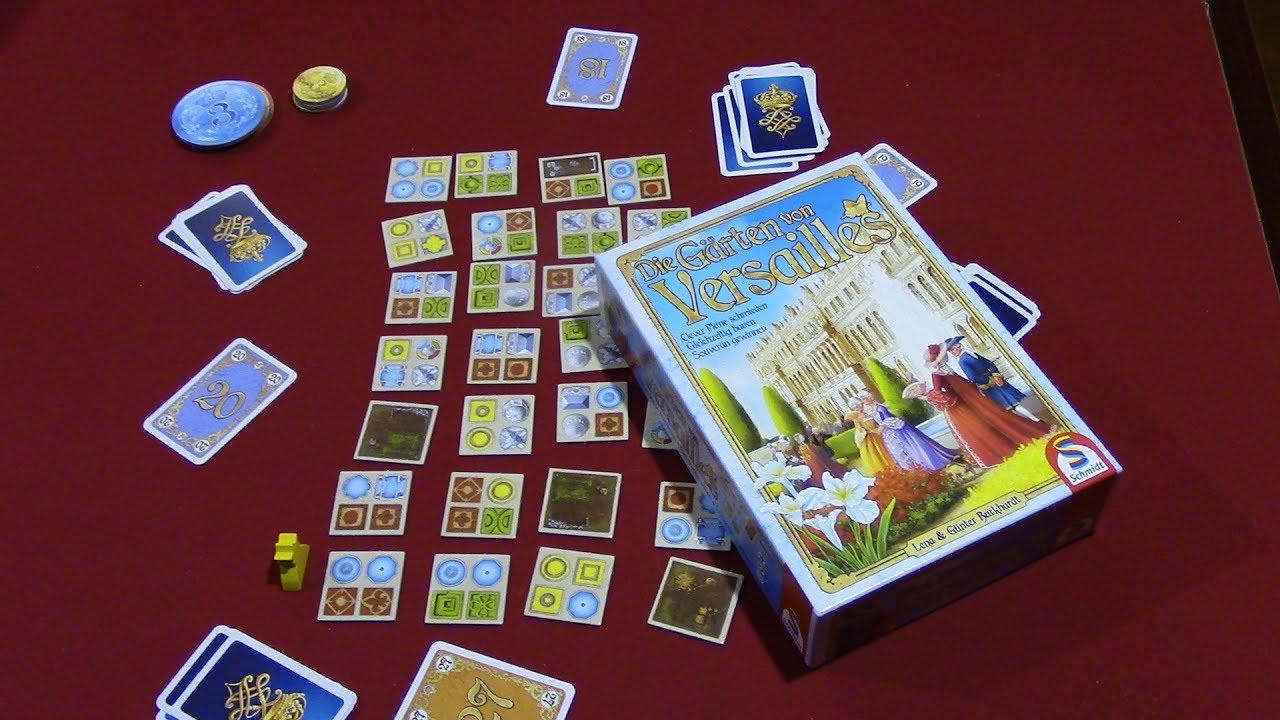 Jeremy Reviews It Die Garten Von Versailles Board Game Review Youtube