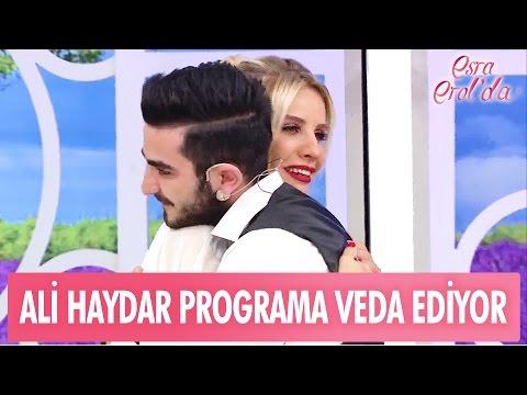 Ali Haydar programa veda ediyor! - Esra Erol'da 18 Nisan 2017 - 382. Bölüm - atv