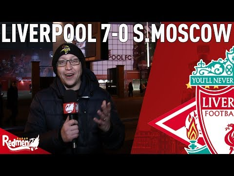 Coutinho Hattrick Sends Reds To Last 16! | Liverpool v Spartak Moscow 7-0 | Chris' Match Reaction