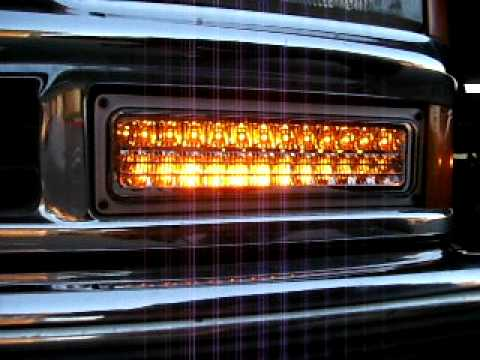 Anzo Led Parking Lights For 1996 Chevy Tahoe 1 Youtube