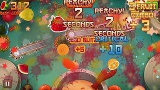 Fruit Ninja iPhone Gameplay #3