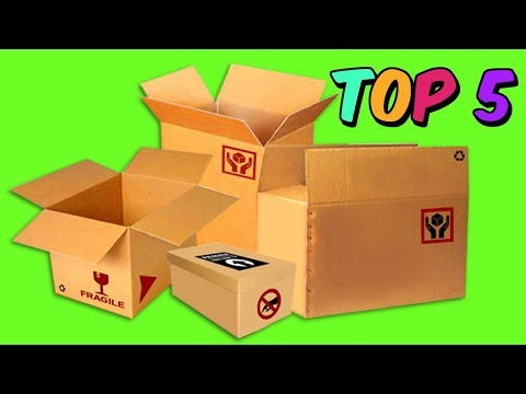 TOP 5 AWESOME CRAFTS made with cardboard BOXES  | the most AMAZING DIY you've ever seen   Mr. DIY