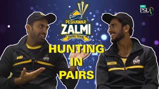 Hunting in pairs Ft. Wahab Riaz and Hasan Ali