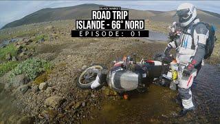 BLKMRKT - On soude une moto en plein milieu des Volcans en Islande ! - [ ISLANDE 66° NORD EP01 ]