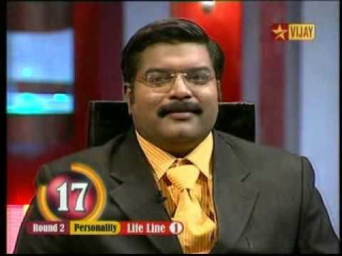 Grand master prog. in vijay tv - Lawrance