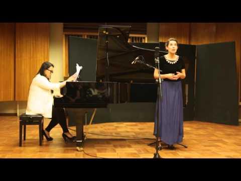 """3 Poèmes de Stéphane Mallarmé"", Maurice Ravel, Soprano Catalina Amenábar"