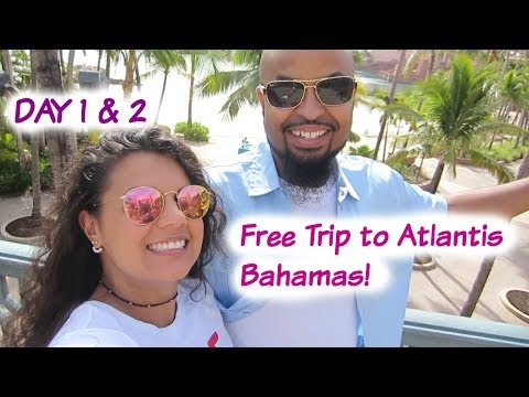 Our FREE TRIP to the Bahamas! - VLOG - June 6 & 7