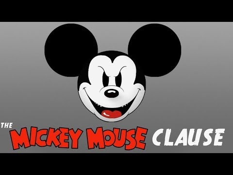 THE MICKEY MOUSE CLAUSE & DISNEYS HIDDEN WAR ON PUBLIC DOMAIN LAWS AND FAIR USE