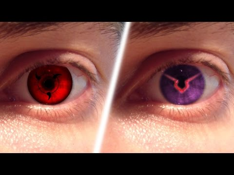 REAL LIFE Anime Eyes #1 (Sharingan, Ghoul, Geass,..)