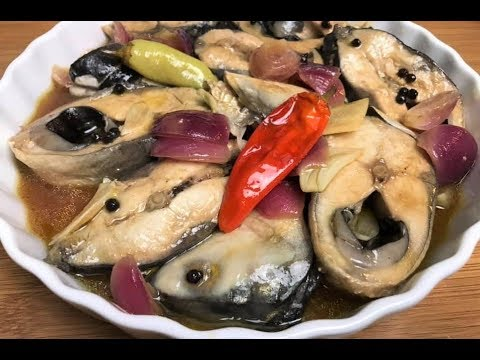 Bangus In Soy Sauce And Olive Oil