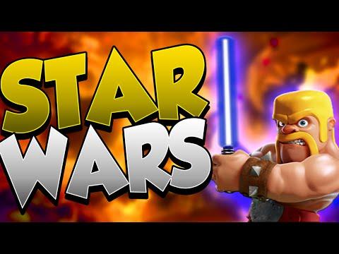 STAR WARS   PERFECT WAR CON 8 ORE DI ANTICIPO   Clash Of Clans ITA