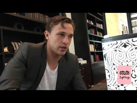William Moseley interview in Manila - Carrie Pilby