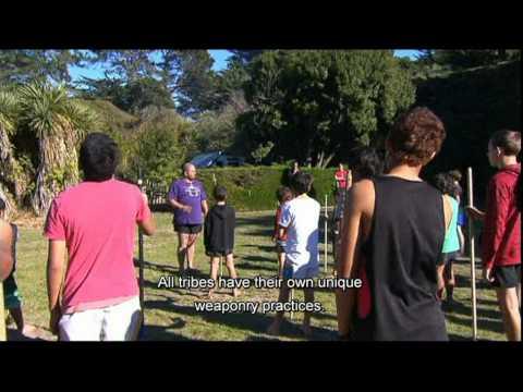 Part 1 of 2 Te Tohu o Tu South Island taiaha wananga