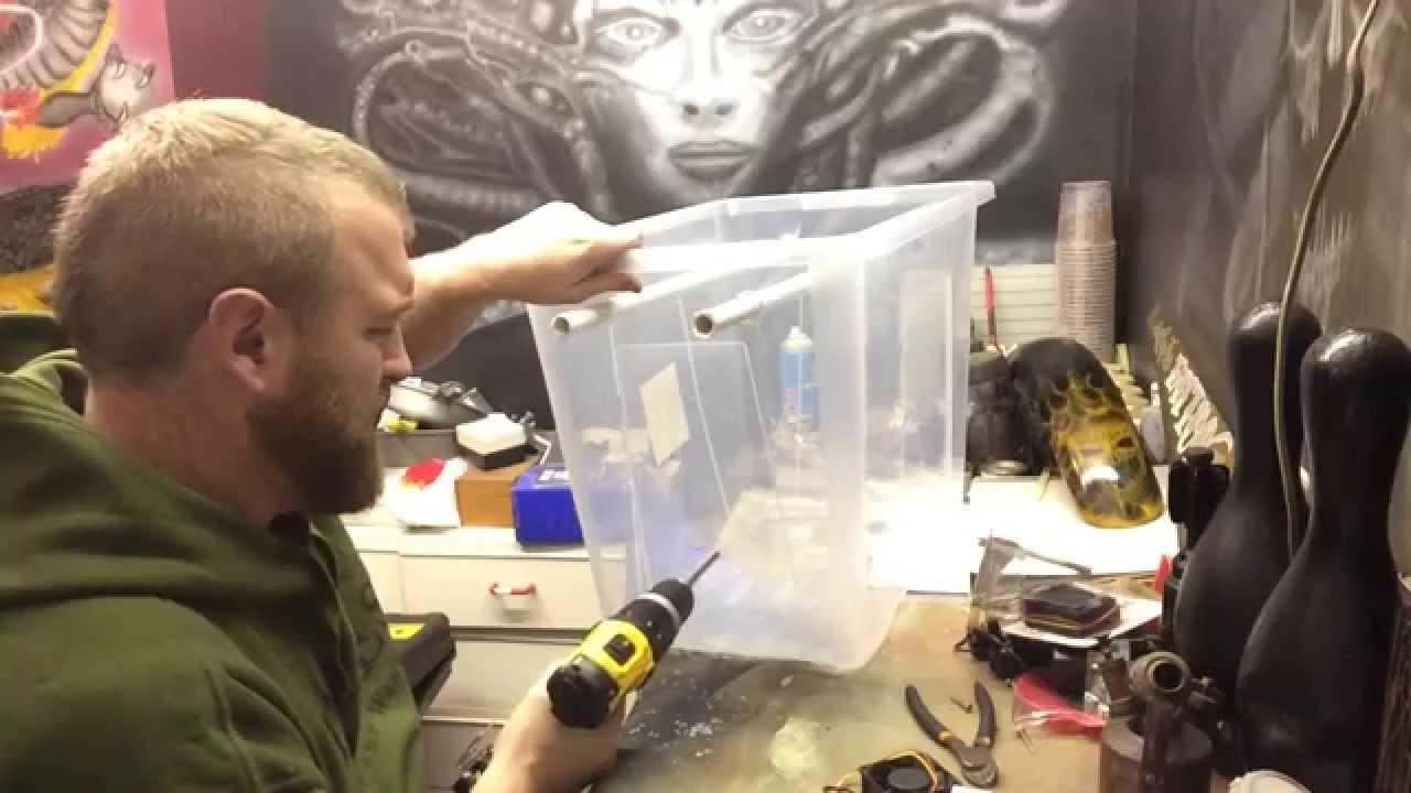 Making A Rough Prototype Food Dehydrator Biltong Box