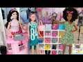 Barbie Fashion Pack New Clothing Store with Dresses Skirts Purse Accessories Shopping Mall for Dolls