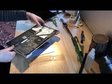 """MacBook Pro 13"""" A1278 Замена шлейфа дисплея"""