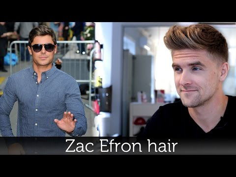 Zac Efron Hair   Men's Hairstyle Inspiration   Tutorial For Men by Slikhaar TV
