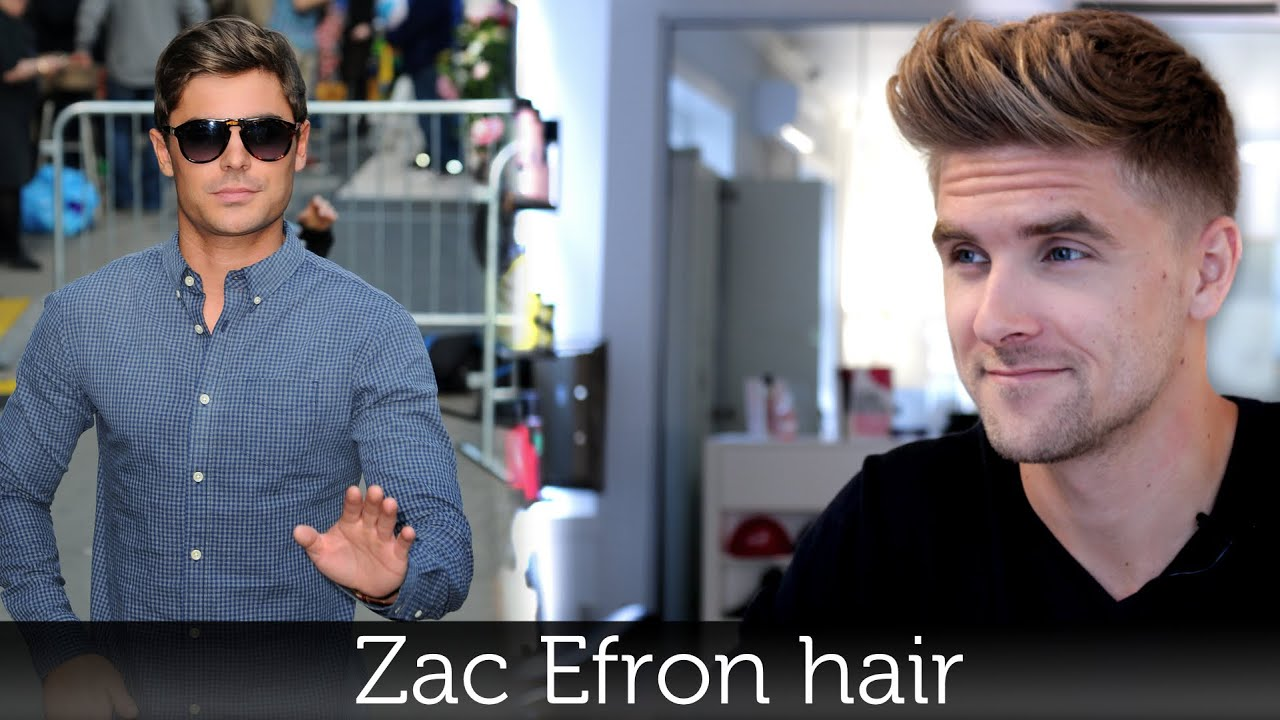 Zac Efron Hair Men S Hairstyle Inspiration Tutorial For Men By