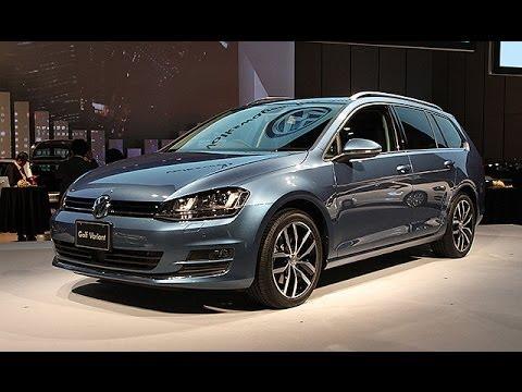 VW、ゴルフヴァリアント発表=カー・オブ・ザ・イヤー受賞車のワゴンタイプ - YouTube