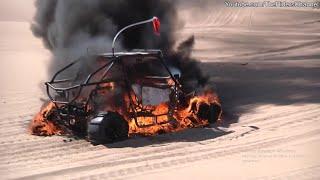ATV-UTV Crash Fire