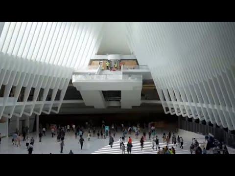 A Tour Inside the NEW Port Authority Oculus NYC New York City Transit Hub Architect Calatrava