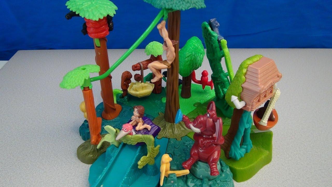1999 Disney Tarzan Jane Mcdonalds Happy Meal Toy Figure