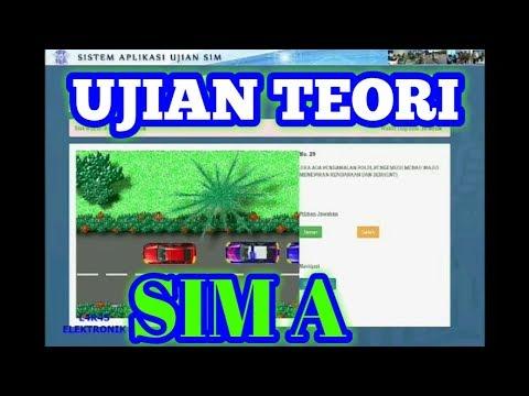 LATIHAN SOAL UJIAN TEORI SIM A 2019 Dan Jawabannya Terbaru