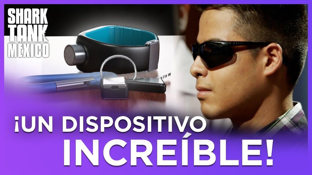 Esta pulsera le permite sentir su entorno | Shark Tank México