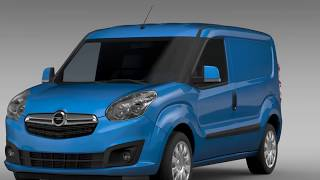 3D Model of Opel Combo SWB Cargo 2015 (D) Review