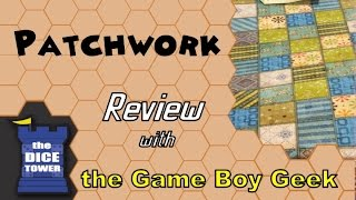 Patchwork Review - with the Game Boy Geek