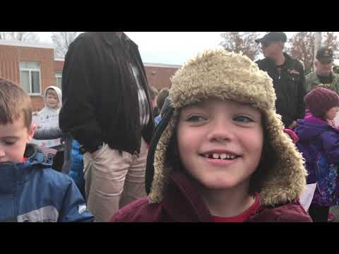 James Burd Elementary School Veterans Day parade