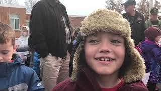 James Burd Elementary School Veterans Day parade