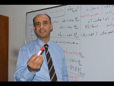 دورة الكيمياء : الفصل الاول الثرموداينمك/ج3 قانون هيس / الاستاذ محمد محروس