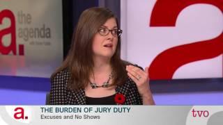 The Burden of Jury Duty