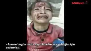 Amca Yeni Pijamam Kesme - Suriyeli Kz ocuu