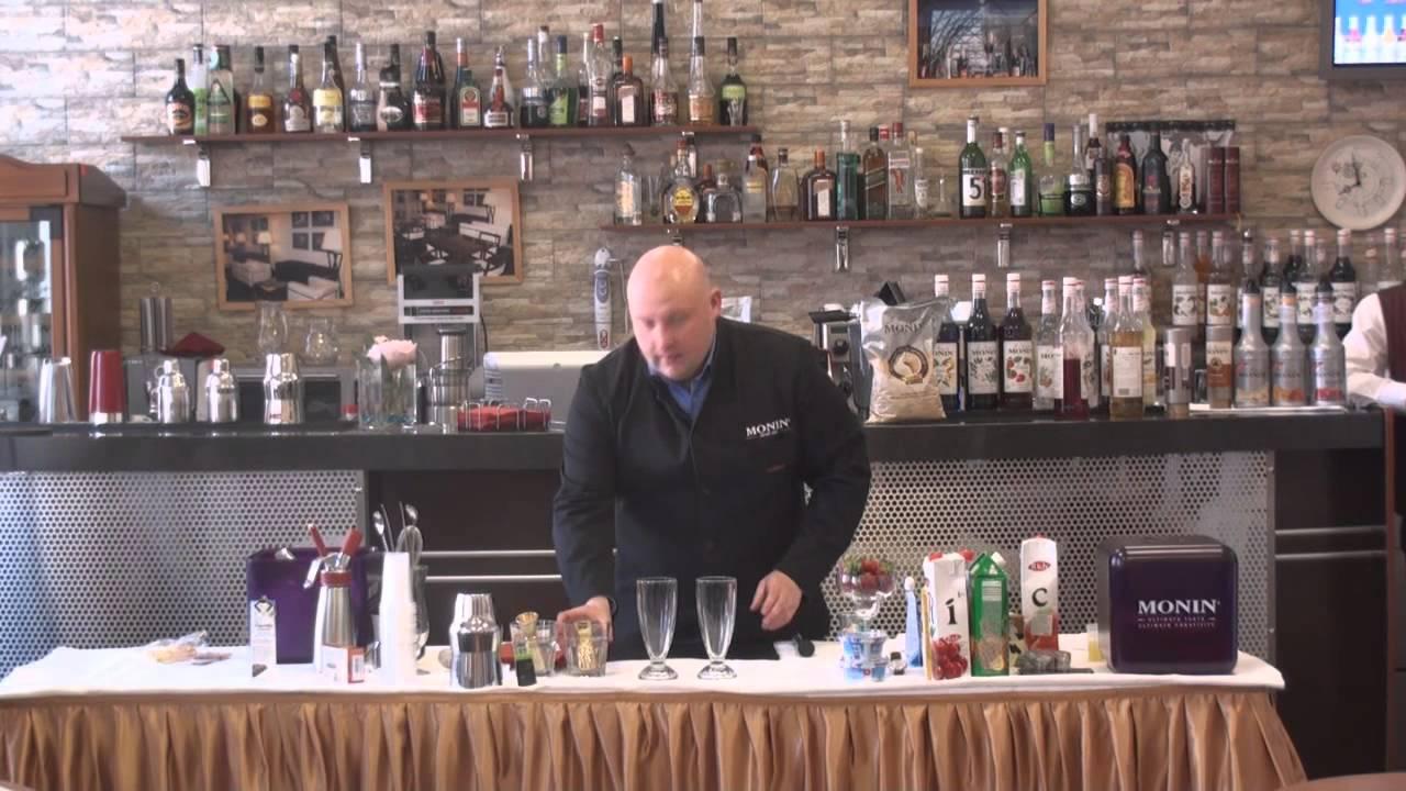 Безалкогольные Коктейли с Сиропами Монин Рецепты - YouTube