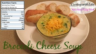 Broccoli Cheese Soup - Creamy Soup Recipe - Broccoli Cheddar Soup Recipe - Cream of Broccoli Soup