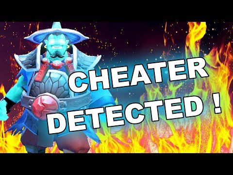 Dota 2 Cheaters: Storm Spirit sees all TP's and HEROES inside FOG OF WAR!