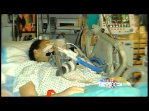 Jessica saved by ECMO machine - swine flu h1n1 - YouTube
