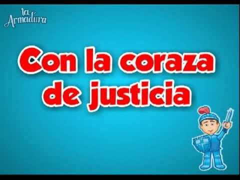 La coraza de Justicia- La Armadura- Letra - YouTube