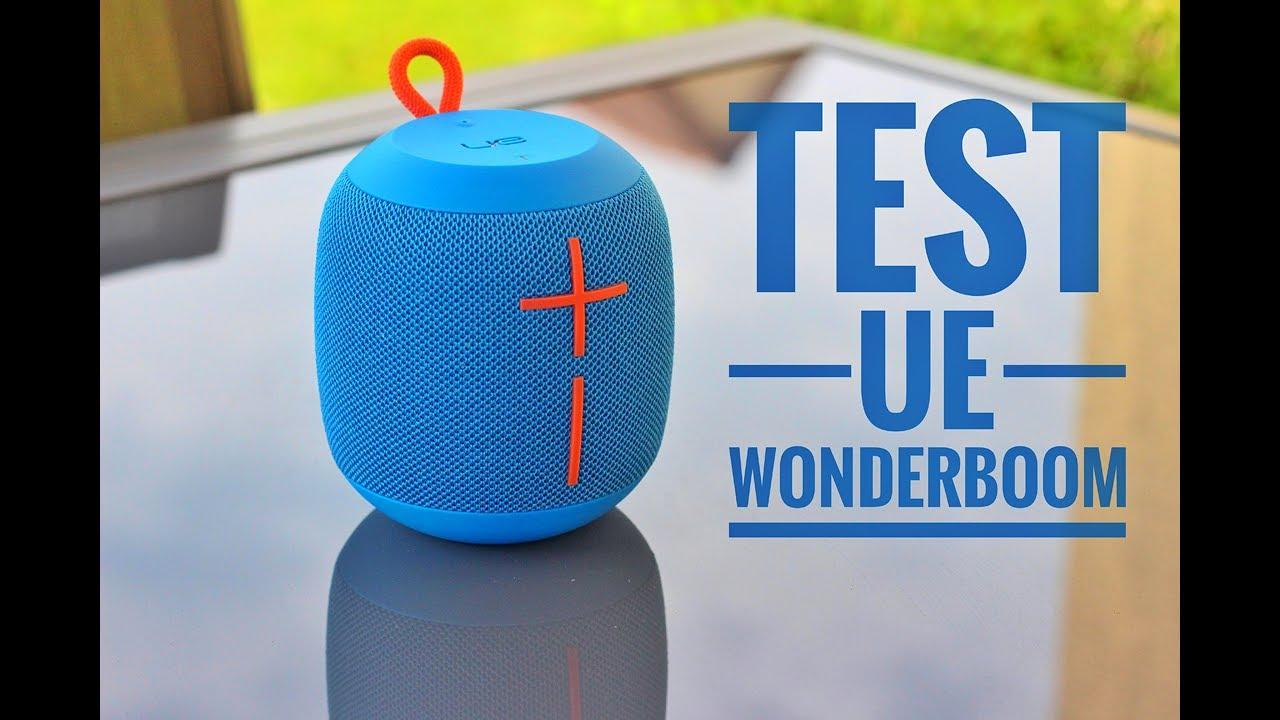 test ue wonderboom high tech enceinte portable tanche moins de 100 youtube. Black Bedroom Furniture Sets. Home Design Ideas