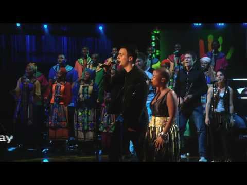 "Jesse Clegg and Freshlyground perform ""Asimbonanga"" at Mandela Day 2009 from Radio City Music Hall"