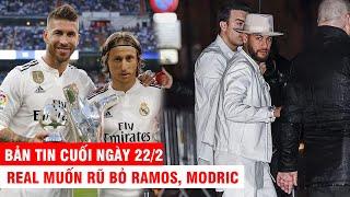 BẢN TIN CUỐI NGÀY 22/2 |Neymar và đồng đội đi quẩy sau thua Dortmund – Real muốn rũ bỏ Ramos, Modric