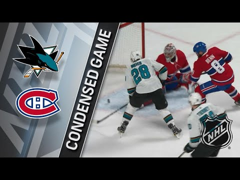 01/02/18 Condensed Game: Sharks @ Canadiens