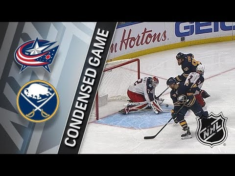 Columbus Blue Jackets vs Buffalo Sabres – Jan. 11, 2018 | Game Highlights | NHL 2017/18. Обзор матча