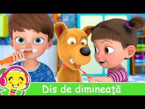 Dis de dimineata – Cantece educative pentru copii | CanteceGradinita – Cantece pentru copii in limba romana
