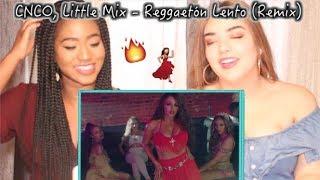 Baixar CNCO, Little Mix - Reggaetón Lento (Remix) [Official Video]   REACTION