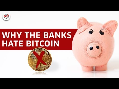 WHY DO THE BANKS HATE BITCOIN? (will cryptocurrency make banks obsolete?)