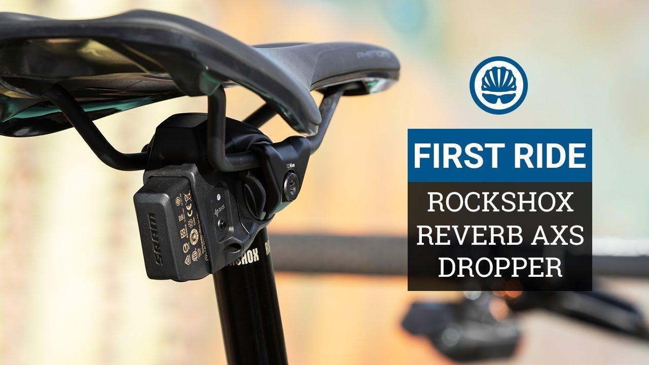 RockShox Reverb Bicycle Seatpost 150mm Travel Black 30.9 x 440mm Remoter