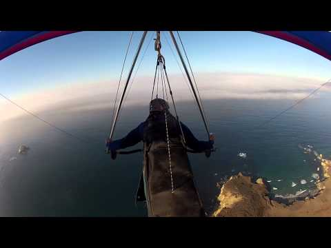 Big Sur Hang Gliding 1/5/14